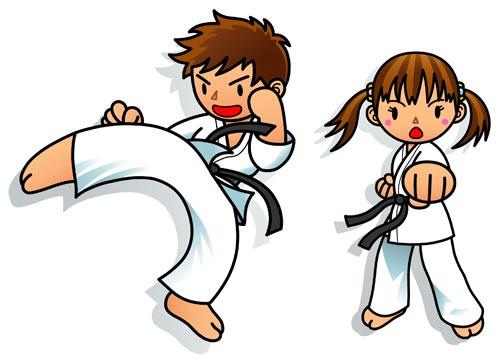 Blog del Europa para 5º y 6º: Karate con Álvaro y María una ...